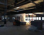 Ausbau Lagerhalle