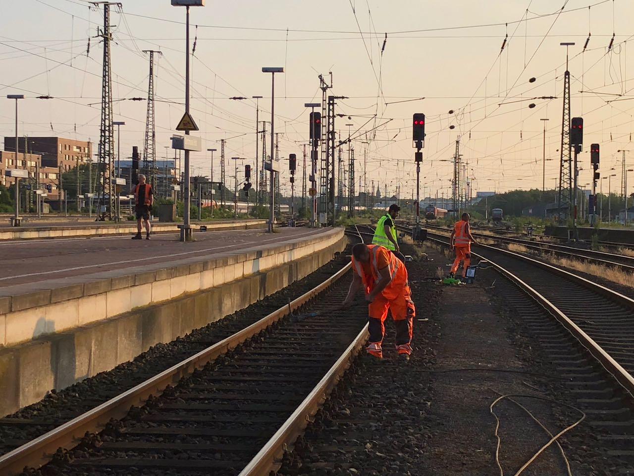 Gleisbau Hauptbahnhof