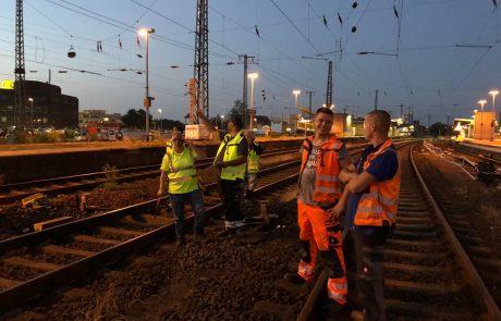 Hauptbahnhof Gleisbau