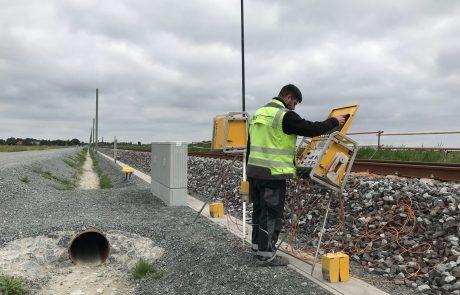 Gleisbau Sicherung